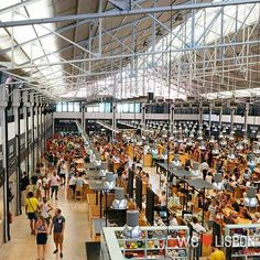 Ribeira Market in #Lisbon www.welovelisbon.net/food-and-drink/mercado-da-ribeira #Portugal #Travel