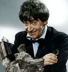 The Awesome Second Doctor as played by Patrick Troughton