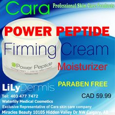Firming Cream, Active Ingredient, Moisturizer, Medical, Skin Care, Cosmetics, Products, Beauty Products, Moisturiser