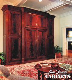 Mahogany Entertainment Furniture
