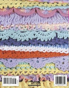 50 Crocheted Afghan Borders - Have you ever completed an afghan and thought there was just something missing? It was really pretty but...well, it seemed to need something else and it wasn't fringe! What that afghan probably needed was a border. And this book by Jean Leinhauser gives you 50 of them, which can be added to just about any afghan, whether it's knitted or crocheted, to provide the finishing touch. Some of the borders are wide and ruffled, some are narrow and tailored. Others are…
