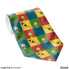 Juggle Pop Tie
