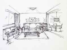 Living Room Quick Sketch