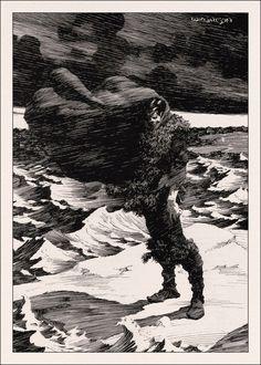 haruchonns — ungoliantschilde: Berni Wrightson ~ All 58 of. Horror Comics, Bd Comics, Horror Art, Comic Book Artists, Comic Books Art, Comic Art, Ink Illustrations, Illustration Art, Academic Drawing