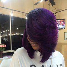 10 Ways To Wear Purple Hair Flawlessly  https://voiceofhair.com/10-ways-to-wear-purple-hair-flawlessly/