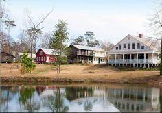 9. The Historic Plantation Village (AKA Village Studios), Jackson