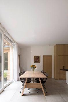 Een zeer mooi interieur met de passende tegel #tegeldecor #woonkamer ...