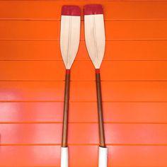 Orange & Oars.