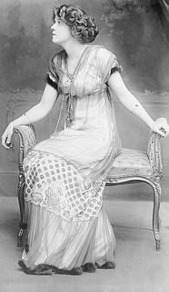 Margaret Emerson, second wife and widow of Alfred G. Vanderbilt, Consuelo Vanderbilt's first cousin, She was the mother of Alfred Gwynne Vanderbilt II and George Washington Vanderbilt III.   She kept Great Camp Sagamore going after Alfred's death.