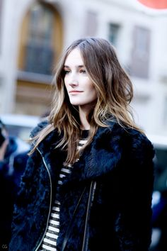 Josephine Le Tutour - Our Favourite Models Fur Fashion, French Fashion, Fashion Models, Fashion Show, Fashion Tips, Fashion Design, Fashion Trends, Josephine Le Tutour, French Women Style