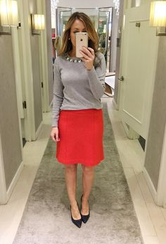 Lilly Style: Fitting room snapshots - Loft + Ann Taylor