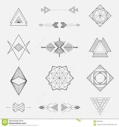 1000 id es sur le th me dessins au trait sur pinterest for Dessin en forme geometrique