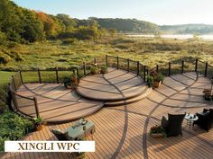 Project - Bamboo Wood Composite(WPC) Decking - XINGLI BAMBOO PRODUCTS COMPANY