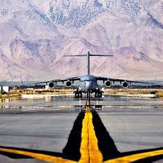 A U.S. Air Force C-17 Globemaster III