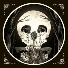 Another cartoony Skull illusion