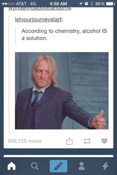 Tumblr funny. haymitch approve!