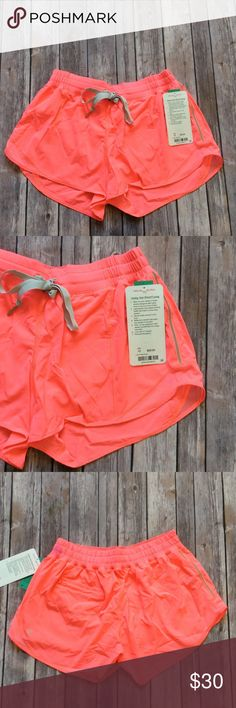 Lululemon new with tag hotty hot shorts - Size 10 Brand: Lululemon Athletica hotty hot shorts long | Flash bright color | Size 10 Condition: New with tag | Firm price  🚩NO TRADES  🚩NO LOWBALL OFFERS  🚩NO RUDE COMMENTS  🚩NO MODELING  I will try to respond to all inquiries in a timely manner. Please check out the rest of my closet, I have various brands. Some new with tag, others in excellent condition. lululemon athletica Shorts