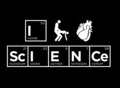 I f*cking love science