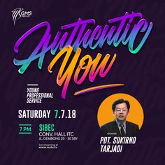 """""""Authentic You"""" Design for professional services. Check my instagram acc @vallhrmnt Minimal Business Card, Cool Business Cards, Business Card Design, Free Flyer Design, Flyer Design Inspiration, Creative Poster Design, Creative Posters, Poster Background Design, Church Graphic Design"""