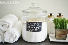 This is what I use - I love it!!!   JH. DIY Laundry Soap - One Year Review & Recipe