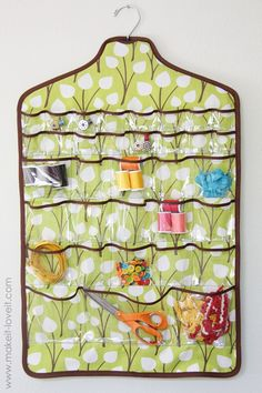 Storage for sewing crafts, jewelry, etc.
