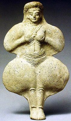 "Elamite Goddess Kiririsha or Pinikir, also known as ""Inanna or Ishtar"" - from Susa in Iran, circa 4000 years old, Susa is the great city of Elam co-exited with Babylonia"
