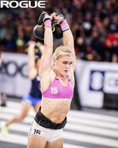 2527b5037b2 Katrin Davidsdottir  2017 CrossFit Games