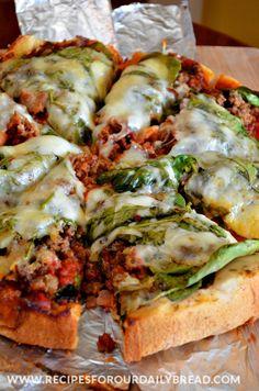 Crock-Pot Whole Pizza  http://recipesforourdailybread.com/2014/06/01/crock-pot-slow-cooker-pizza/