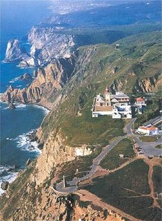 Cabo da Roca, the westernmost point of the European continent