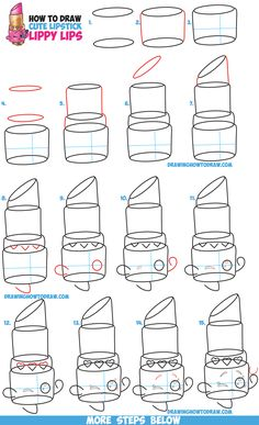 how to draw penny proud step by step