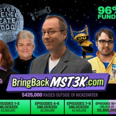Mystery Science Theater 3000 Nabs $6 Million in Record Crowdfunding Campaign