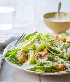 Homemade Caesar Salad Dressing - Once Upon a Chef