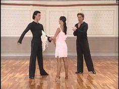 Танцевальный Тренинг- Донни Бернс.(ча ча ча) - YouTube