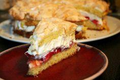 Erdbeer-Baiser-Torte Very close to World's Best Cake, I found out.