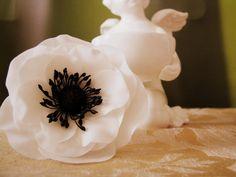Анемон « Керамическая флористика. Цветы из холодного фарфора. Уроки и мастер-классы
