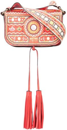 Moschino Mexican embroidery shoulder bag | #Chic Only #Glamour Always