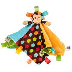 Taggies Dazzle Dots Character Blanket, Monkey Taggies,http://www.amazon.com/dp/B00AJF7OZU/ref=cm_sw_r_pi_dp_z2TXsb1ZV9HASR79