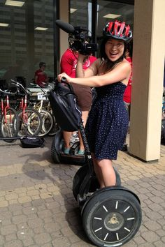 Having a blast in DC on a Segway! #travel