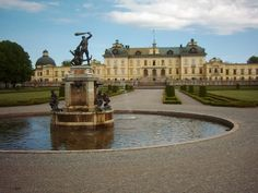 Švédsko, Štockholm-Drotningholm-Park 2