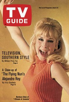"TV Guide: July 6, 1968 - Barbara Eden of ""I Dream of Jeannie"""