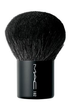 MAC 182.  Love, love, love this brush!  Blends and buffs anything to a beautiful finish Makeup Beauty-Vonira Beauty www.vonirabeauty.com