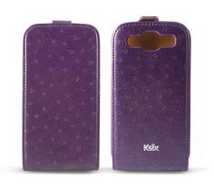 Ostrich Type Ksix para Galaxy SIII púrpura #GalaxySIII #MobileCase #Ostrich
