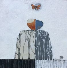 Growing, balancing, flying. Painting by Elin Muren murenelin@gmail.com