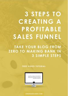 3 Steps To Creating a Profitable Sales Funnel. 3 Steps To Creating a Profitable Sales Funnel. Find A Business Name, Business Tips, Online Business, Creative Business, Sales And Marketing, Content Marketing, Online Marketing, Digital Marketing, Social Marketing