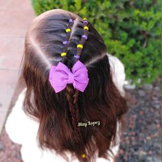 Each of these hairstyles represent fairly easy and are great for newbies, fast and easy toddler hairstyles. Easy Toddler Hairstyles, Lil Girl Hairstyles, Girls Hairdos, Princess Hairstyles, Straight Hairstyles, Braided Hairstyles, Toddler Hair Dos, Toddler Girl, Hair Due