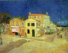 The Yellow House, Vincent Van Gogh. My favorite Van Gogh. Vincent Van Gogh, Van Gogh Museum, Painting Prints, Canvas Prints, Art Prints, Big Canvas, Canvas Size, Van Gogh Arte, Yellow Houses
