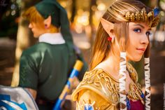Zelda and Link Twilight Princess Cosplay by laahmichelle.deviantart.com on @deviantART