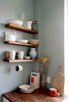 shelves (hooks on bottom)