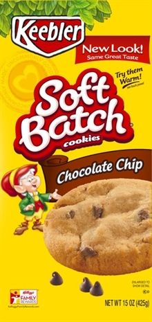 Keebler Soft Batch Chocolate Chip cookies - these were disappointing ...