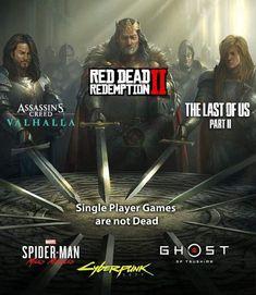 Video Game Memes, Video Games Funny, Funny Games, The Witcher Wild Hunt, Legend Of Zelda Memes, Single Player, R Memes, Gaming Memes, God Of War